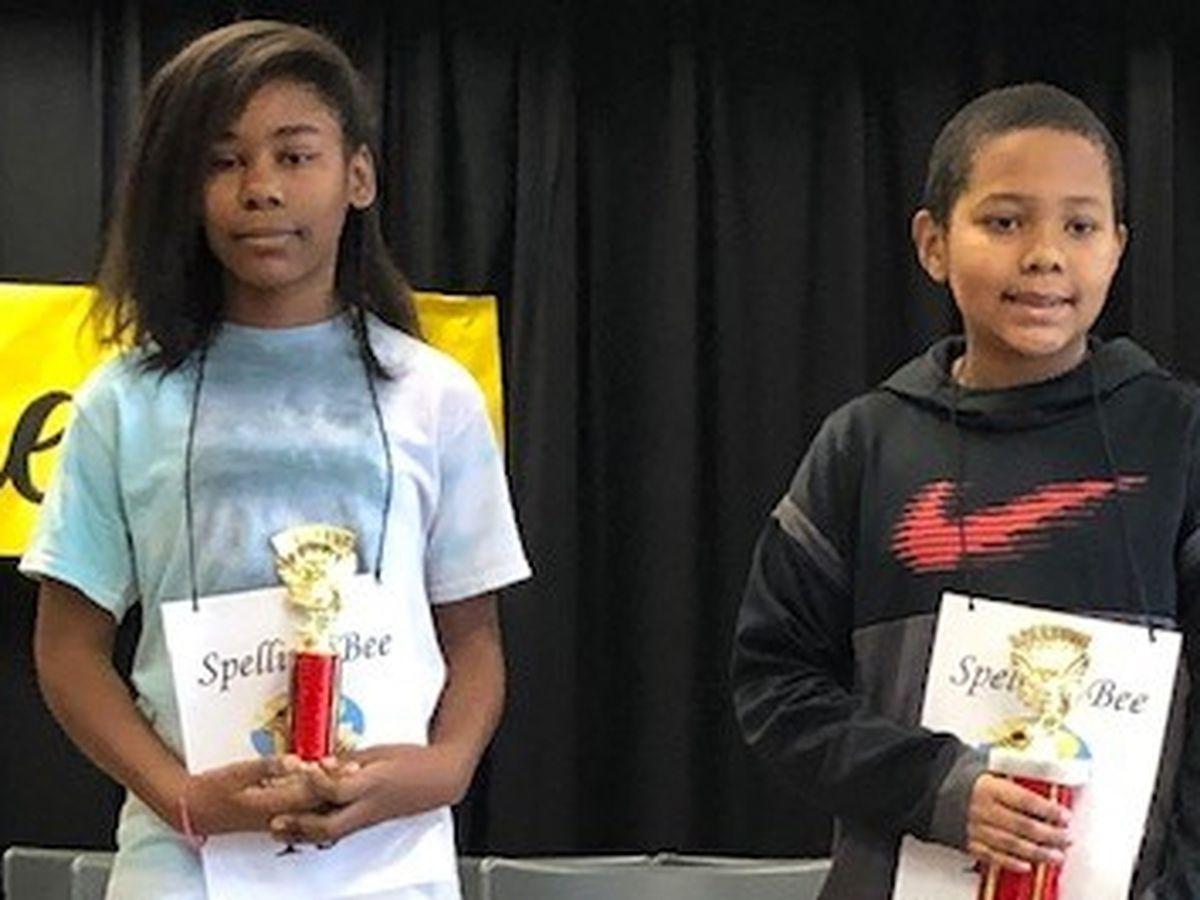 Rigdon Road Elementary School in Columbus names spelling bee winner