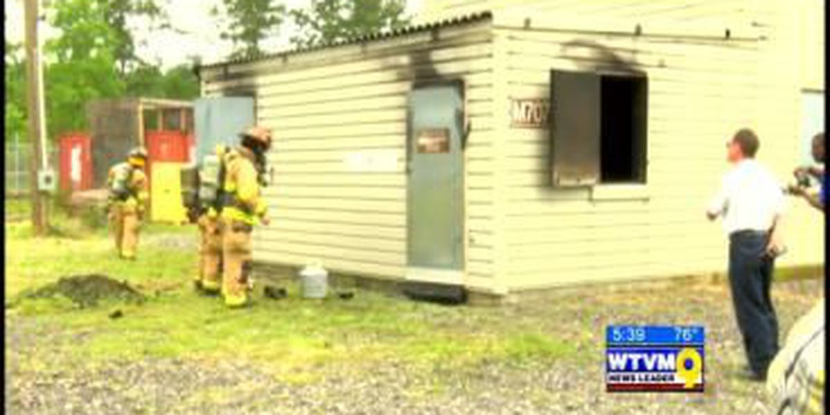 Firefighters train on Fort Benning Monday