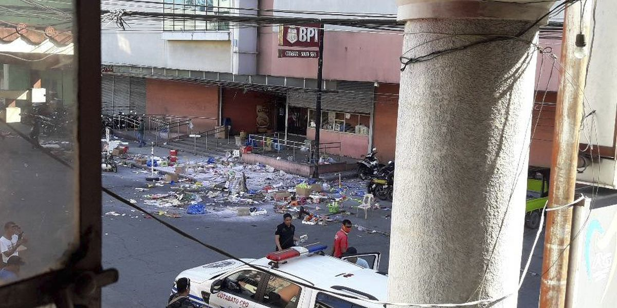 2 dead, nearly 30 wounded in bomb blast at Philippine mall