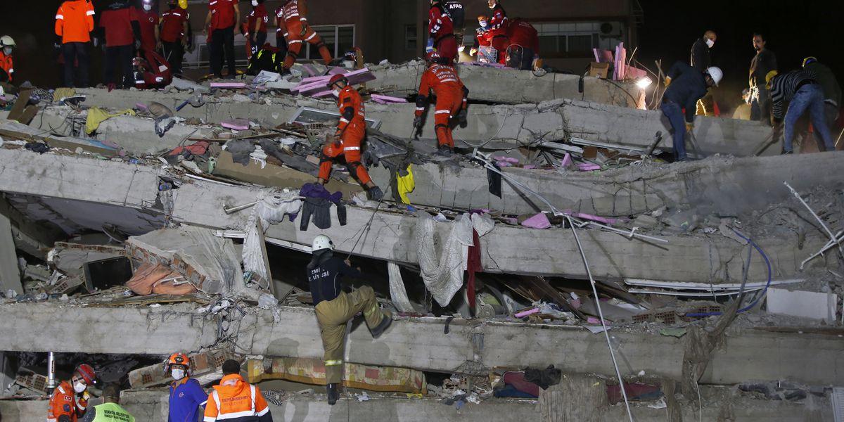 Death toll reaches 30 in quake that hit Turkey, Greek island