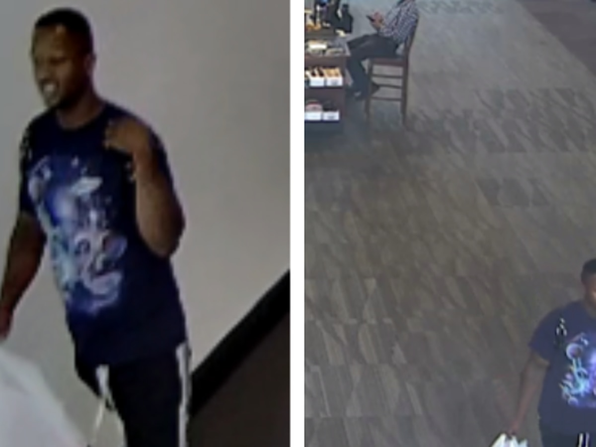 Surveillance images released of man believed to have fired shots inside Peachtree Mall