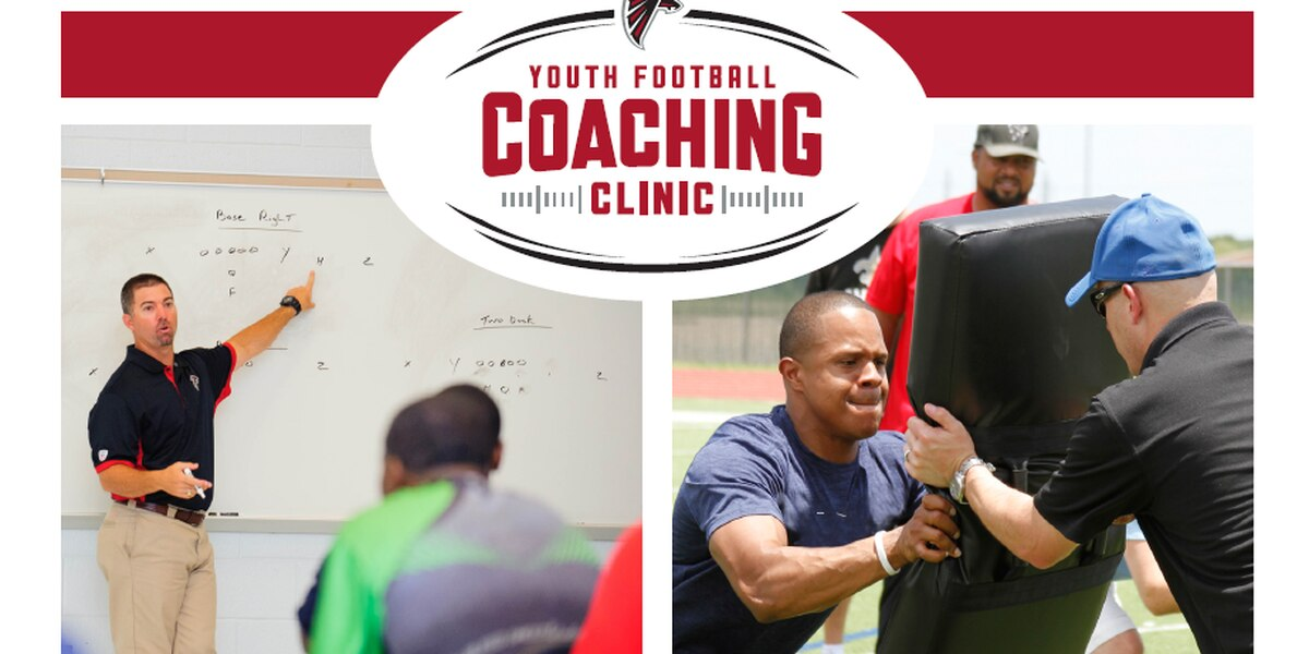Atlanta Falcons hold Youth Football Coaching Clinic in Chattahoochee Valley