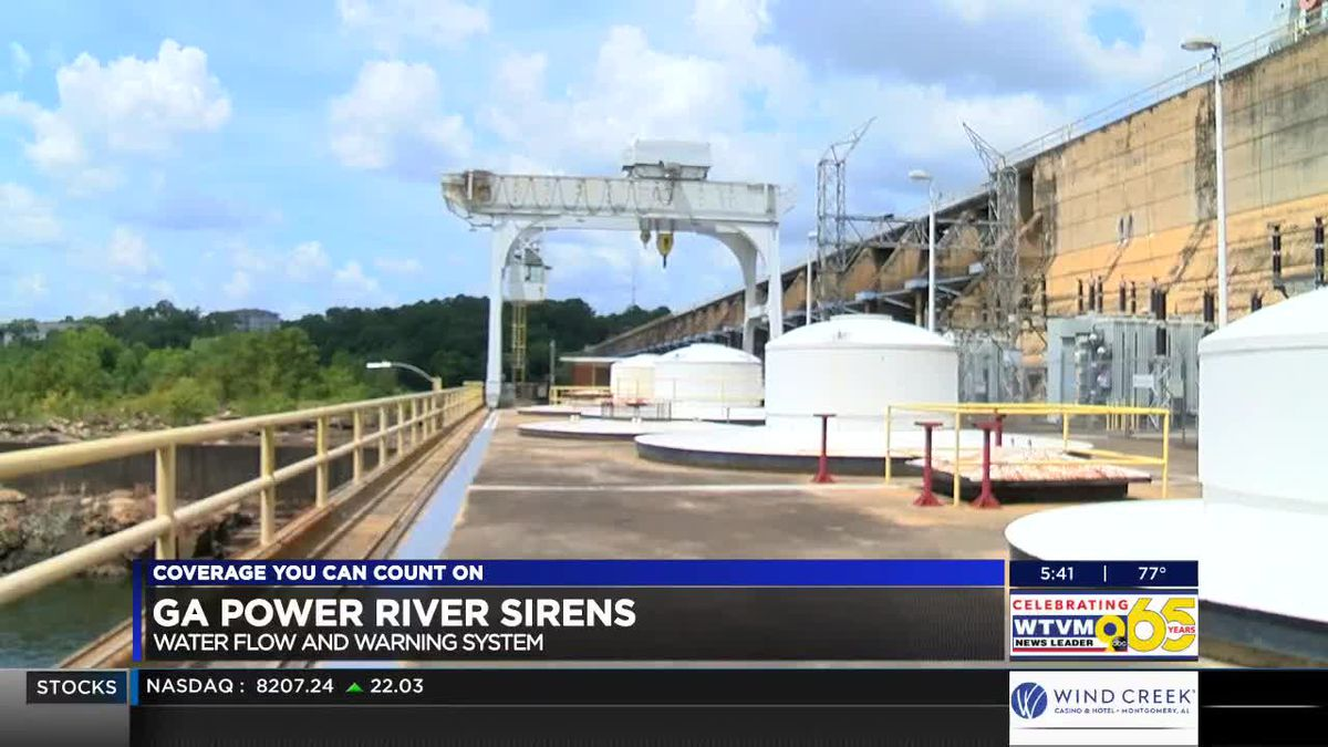 Georgia Power explains dam warning systems and how they can help you stay safe in the river
