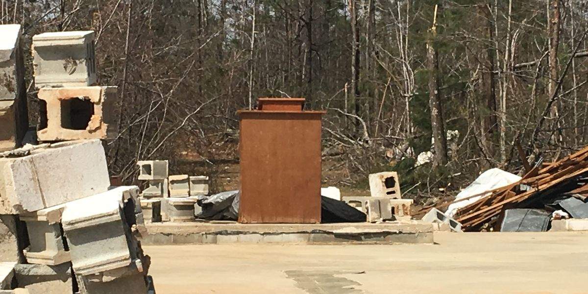 'This was a sign from God' Podium left standing in Talbotton church destroyed by tornado