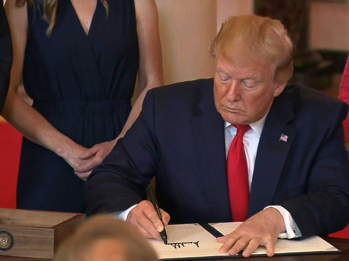 Trump signs order that aims to reveal real health care costs