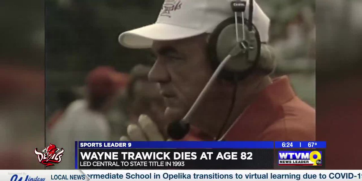 Hall of Fame coach Wayne Trawick passes away