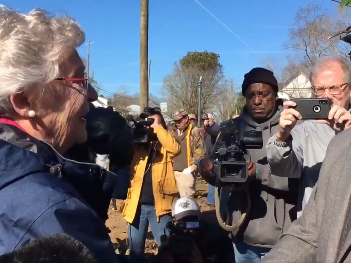Gov. Ivey tours tornado damage in Wetumpka