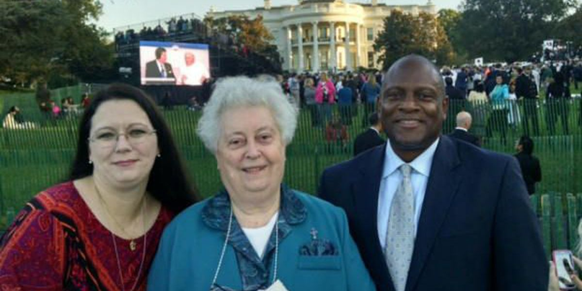 Columbus woman visits D.C. to greet Pope