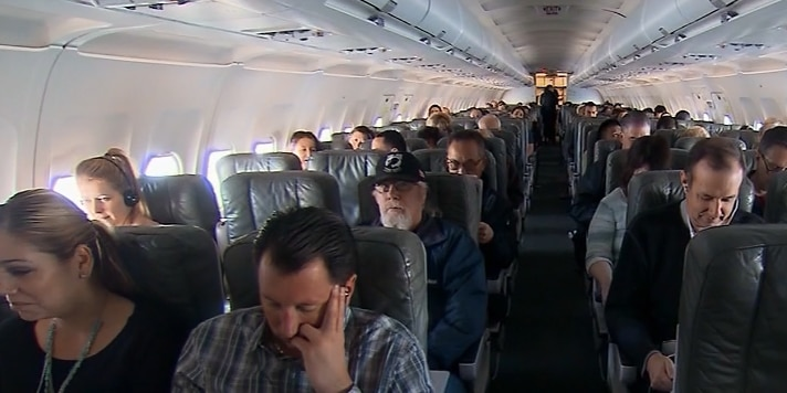 US airlines rank poorly in cleanliness, survey finds