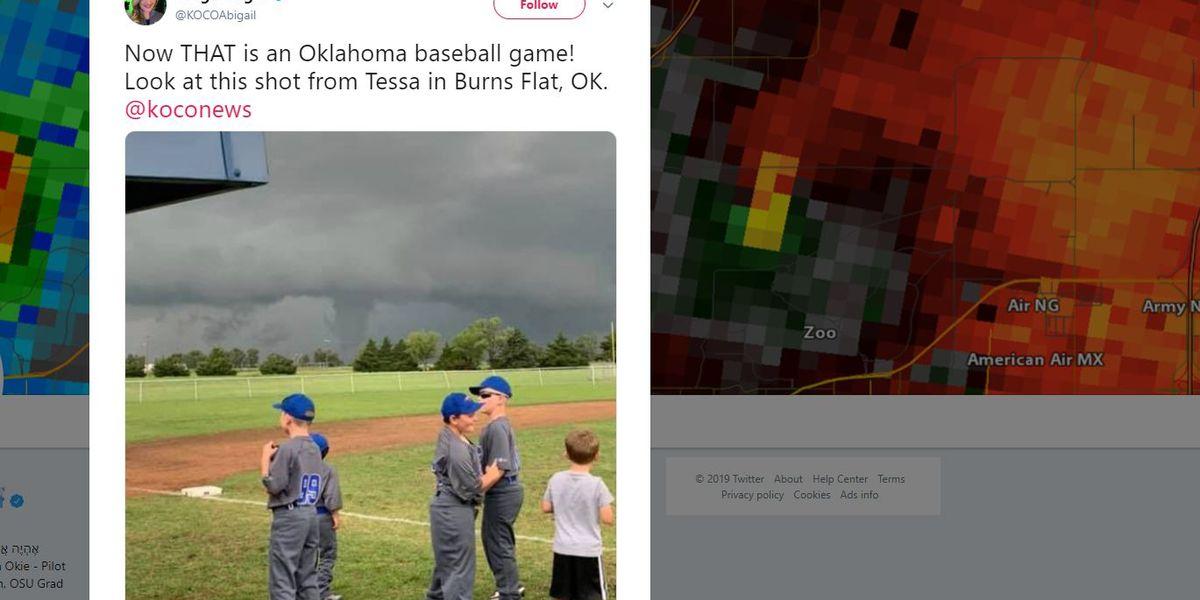 Look twice: Is that a tornado?