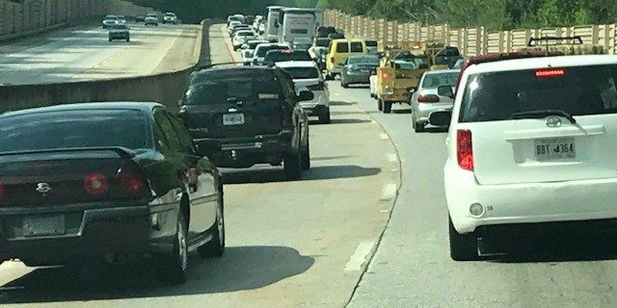 TRAFFIC ALERT: Traffic delayed following vehicle accident on I-185 northbound