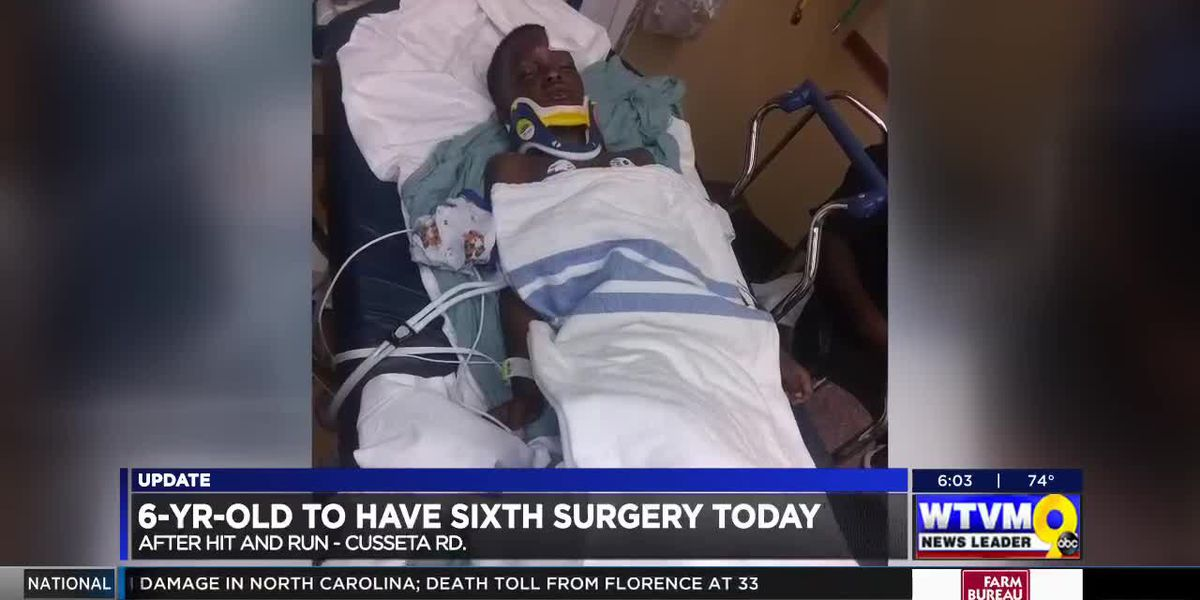 VIDEO: 6-year-old Columbus boy injured in hit-and-run to undergo sixth surgery