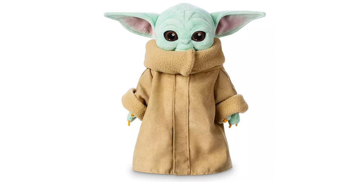 Disney Unveils New Baby Yoda Plush Toy