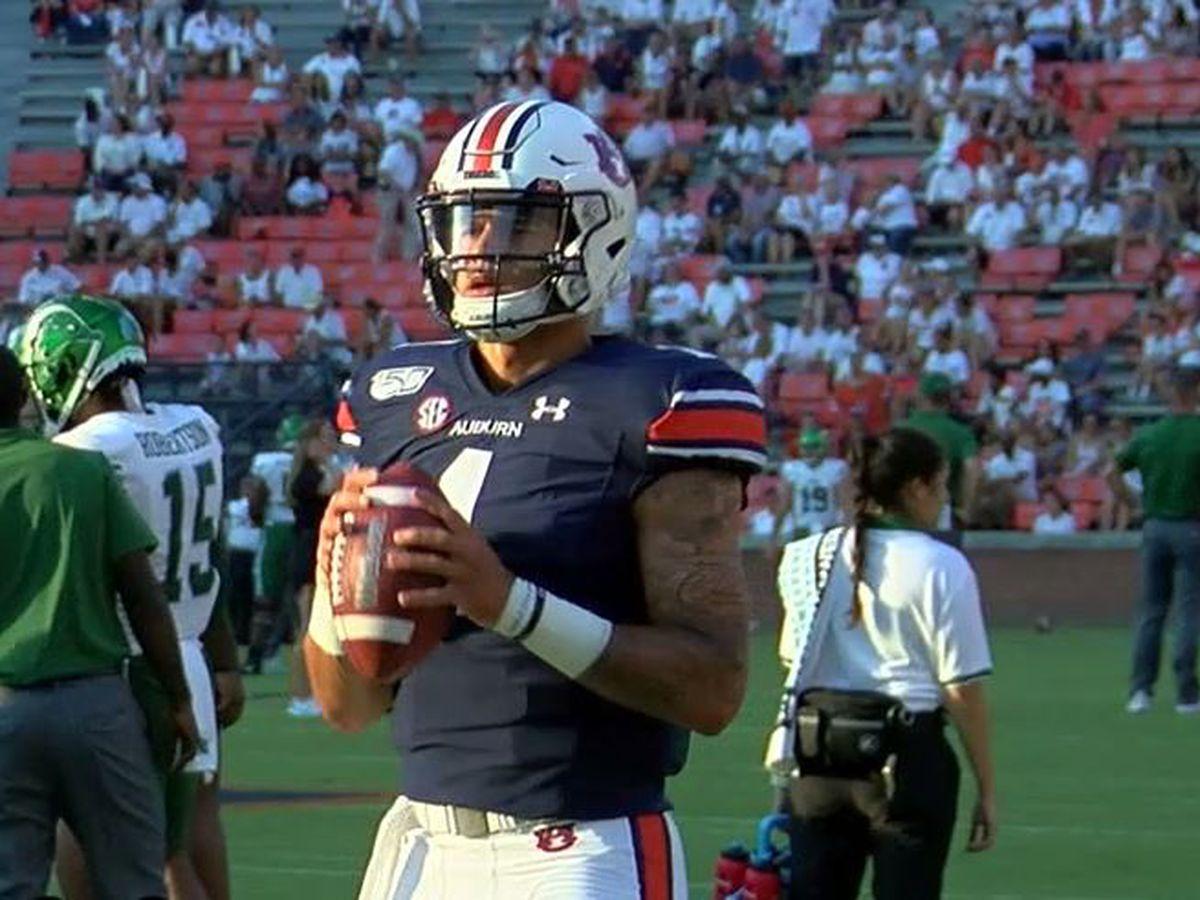 Auburn backup quarterback leaves football team