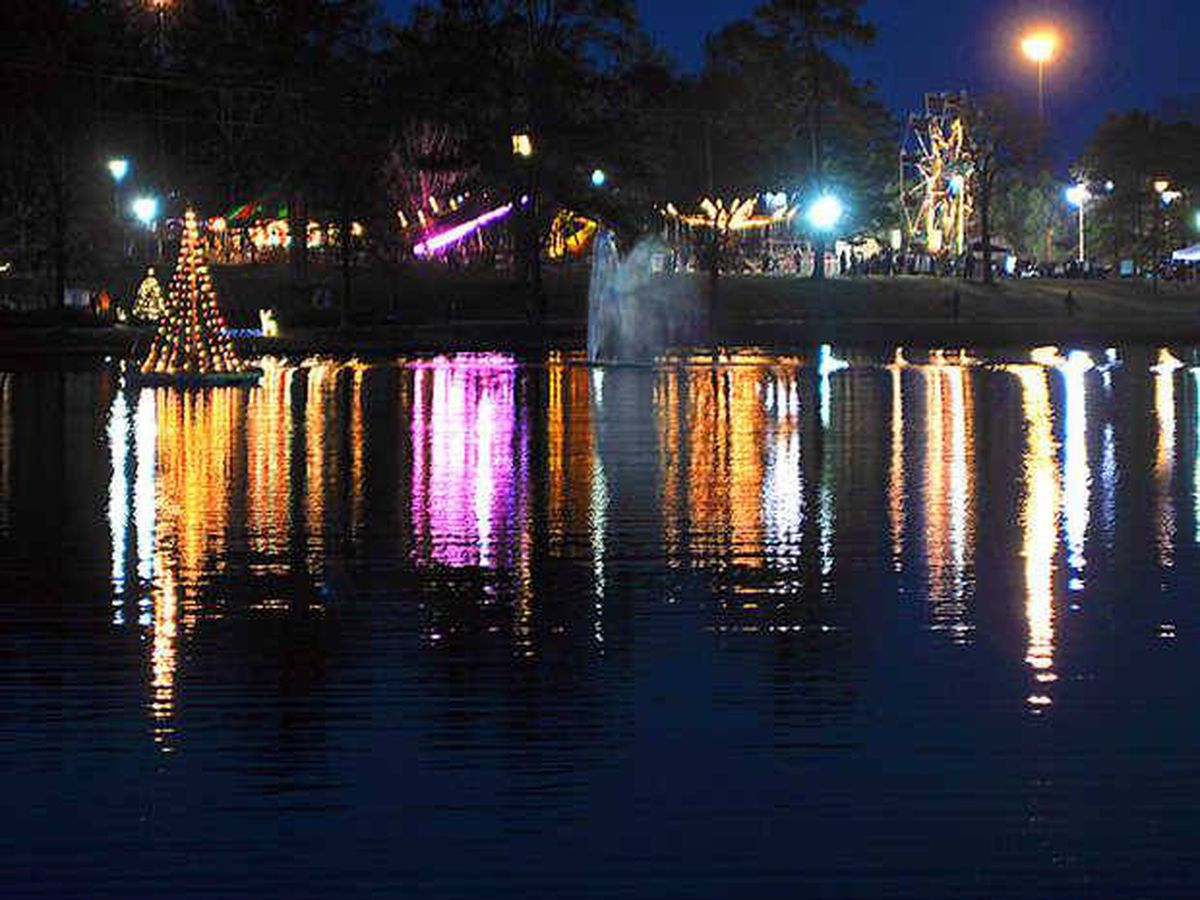 Get in the holiday spirit with the Moon Lake Christmas Carnival