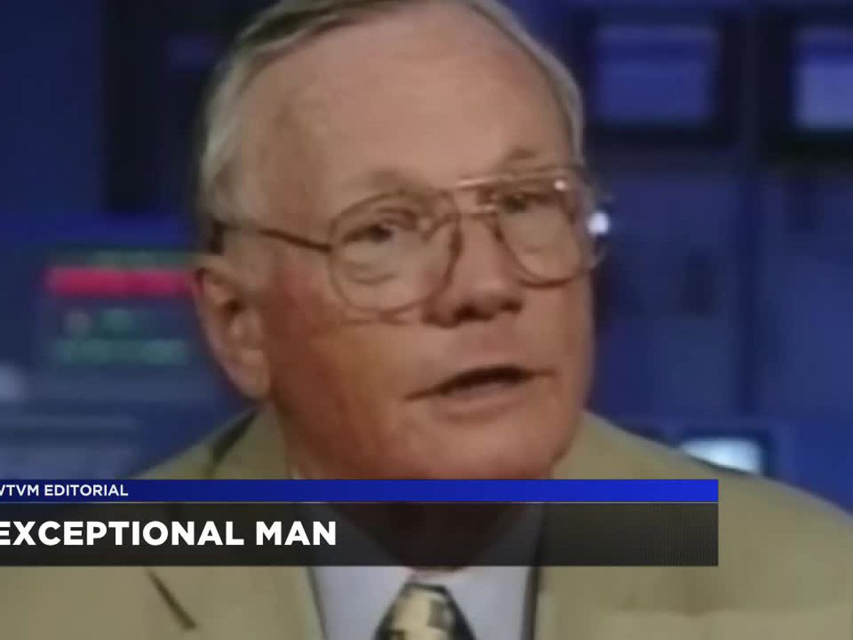 WTVM Editorial 9/25/18: Exceptional man
