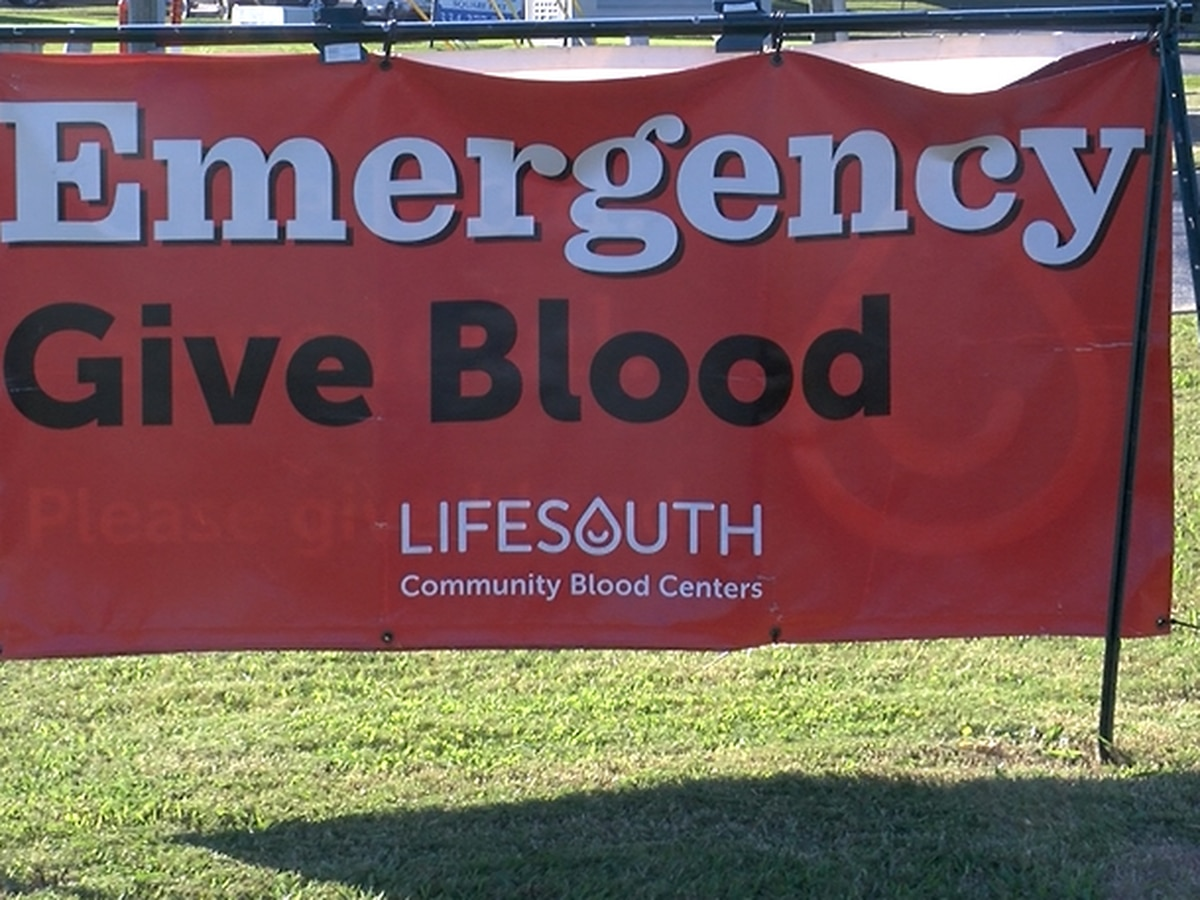 COVID-19 pushes LifeSouth's blood supply to the brink