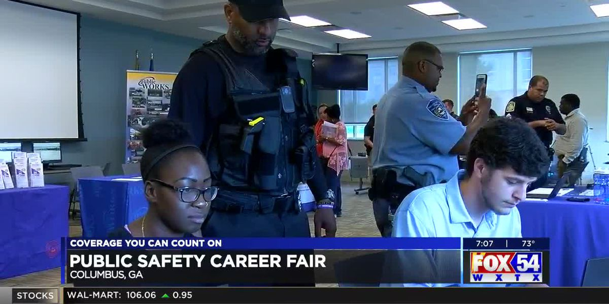 First responders look to recruit new hires with career expo