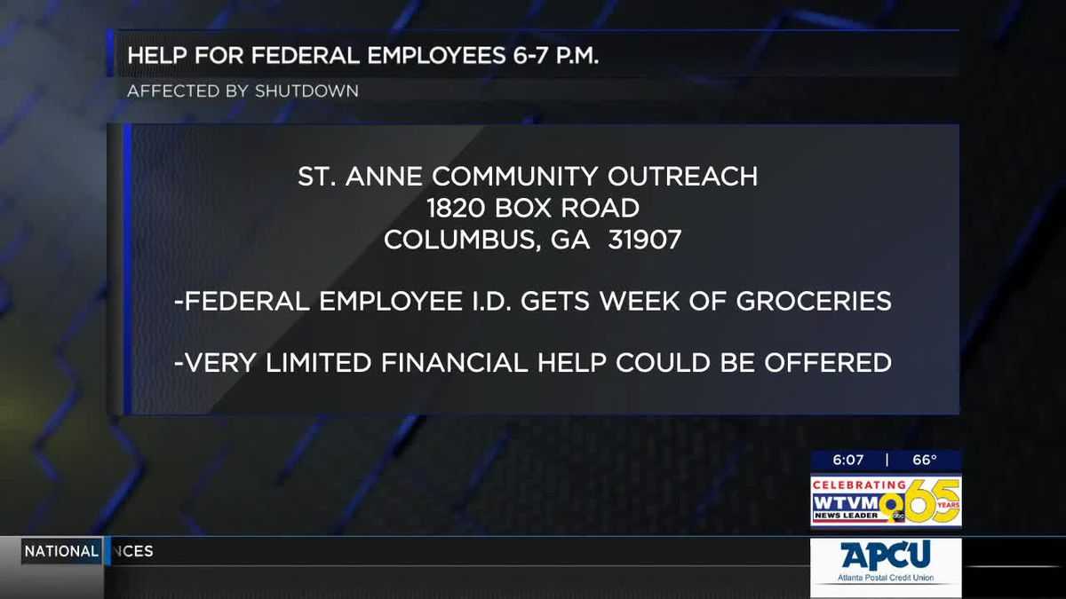Outreach program in Columbus opening food pantry to federal employees affected by government shutdo