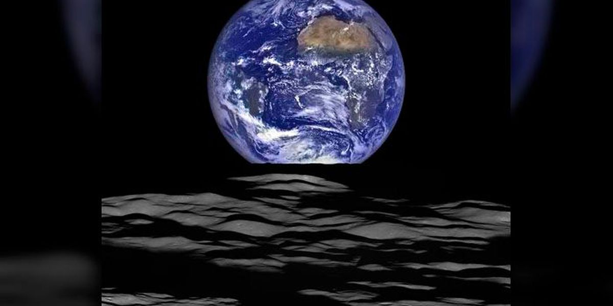 PHOTO: NASA releases beautiful photo of Earth from lunar orbiter