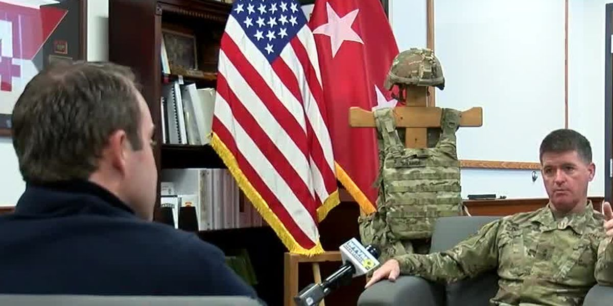 MILITARY MATTERS: Ft. Benning Commanding General gives update on COVID-19