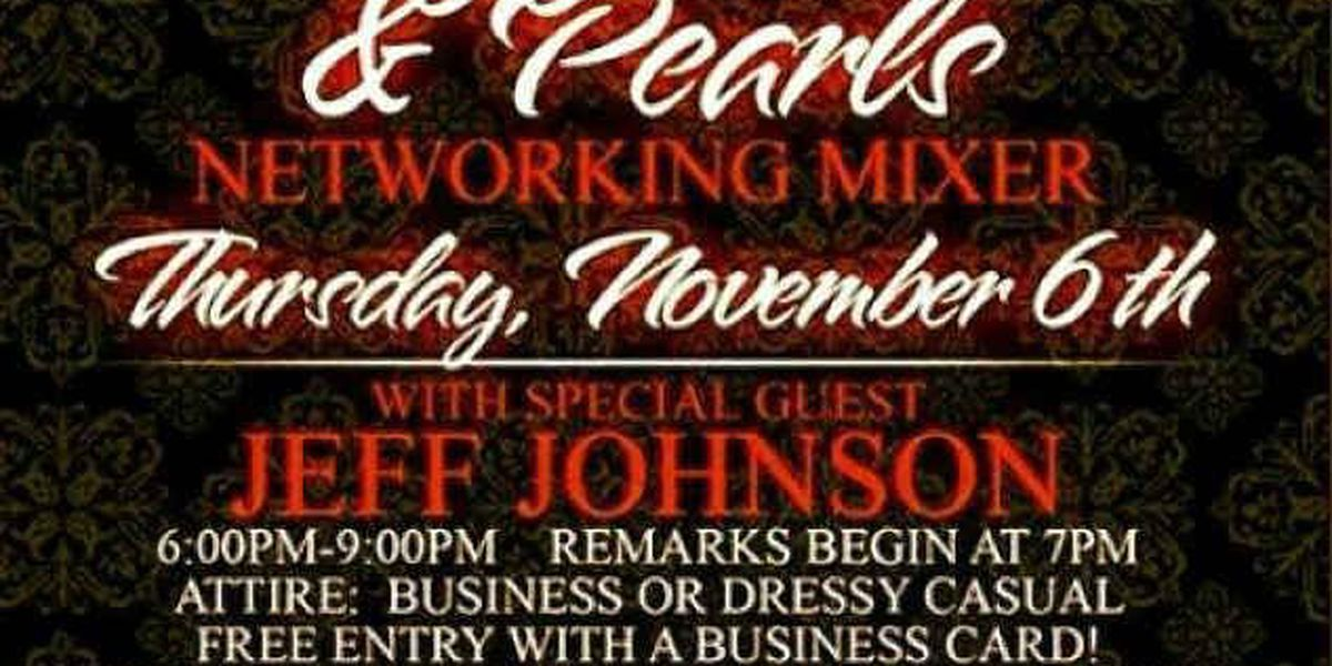 Cuff-Links and Pearls networking mixer