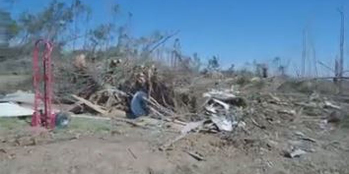 Beauregard family at a standstill after tornadoes destroyed their home