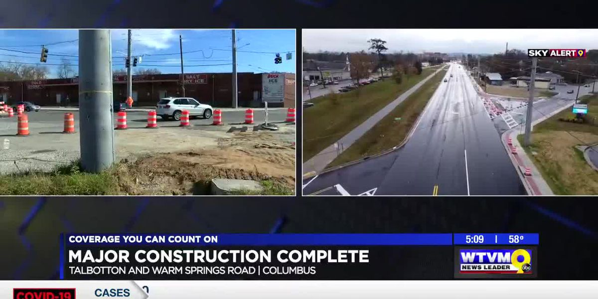 Talbotton Rd., Warm Springs Rd, widening project in Columbus completed