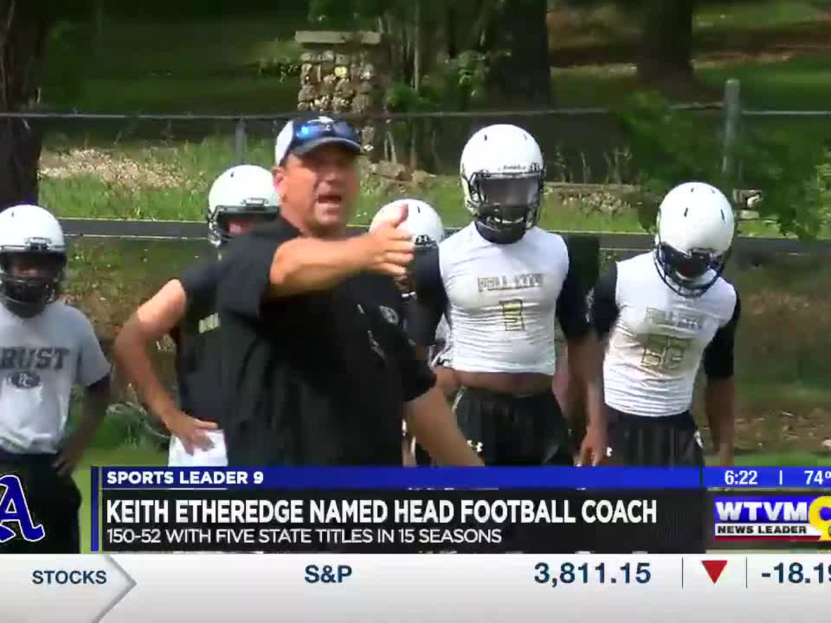 Etheredge takes over Auburn High football program