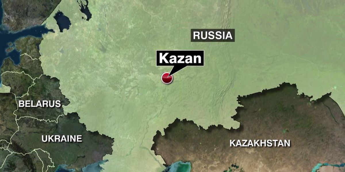 Russian officials: School shooting in Kazan kills 8 people