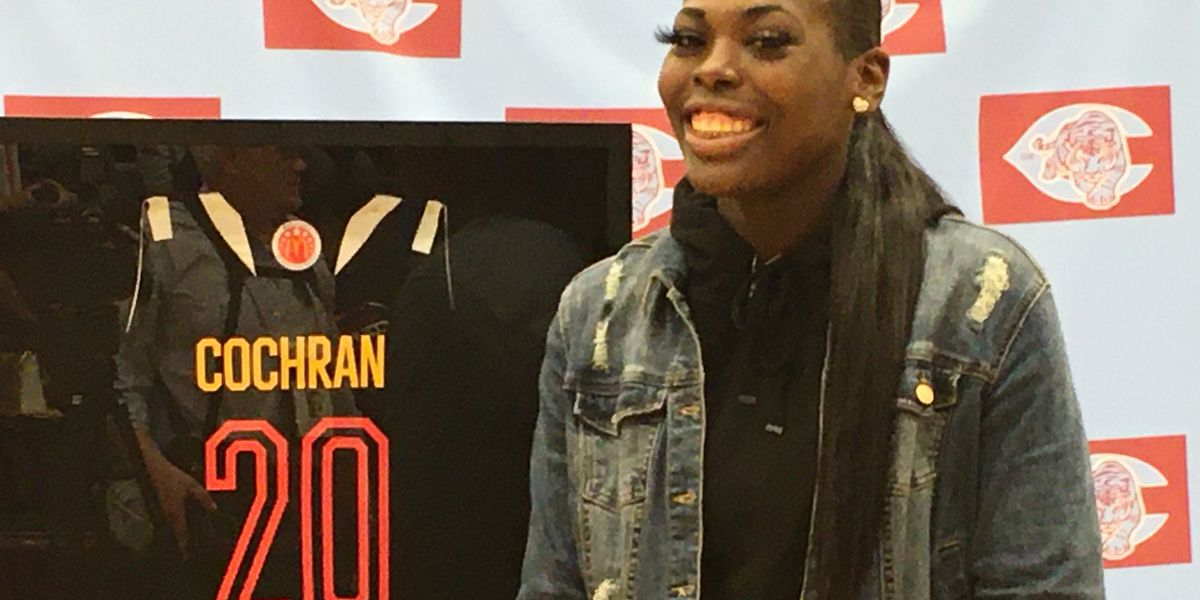 Cochran presented with McDonald's All-American Game jersey