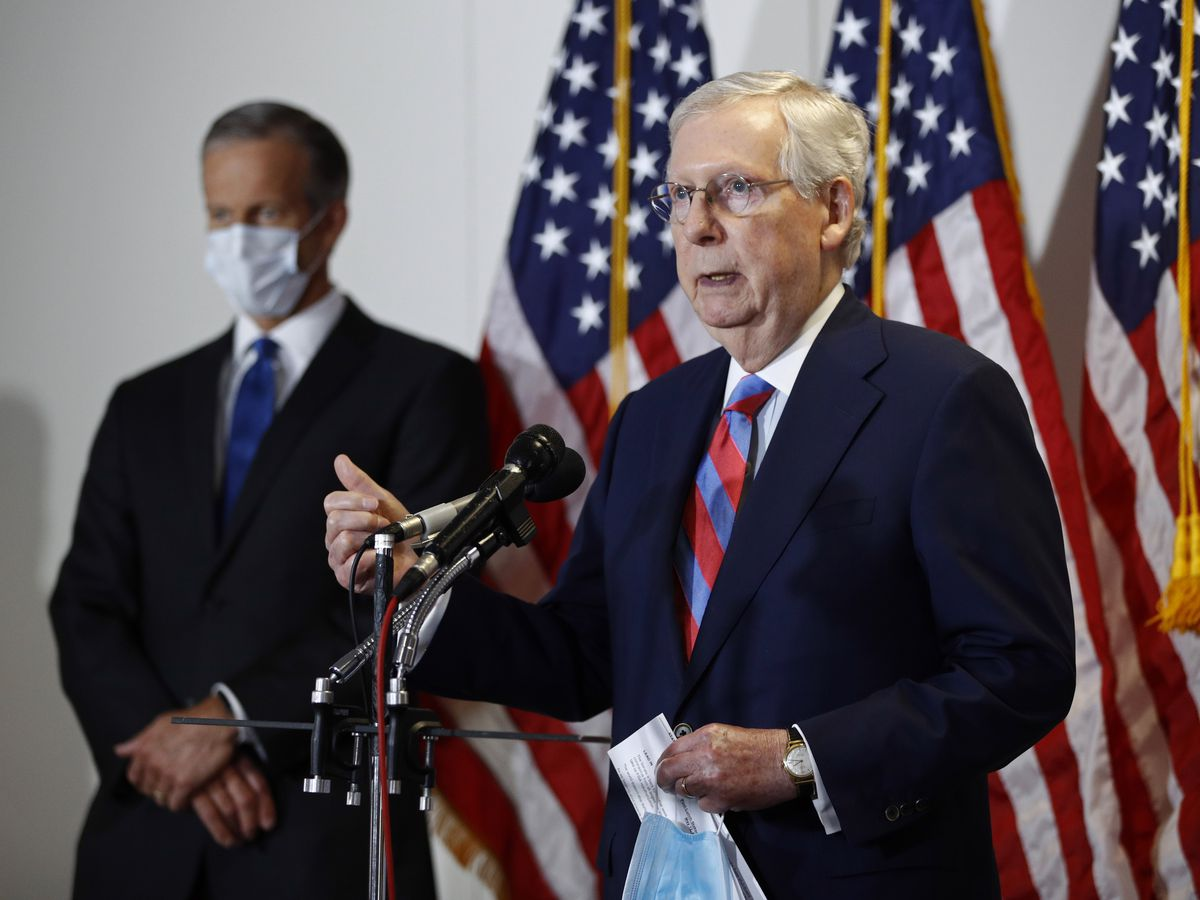 Congress weighs choice: 'Go big' on virus aid or hit 'pause'