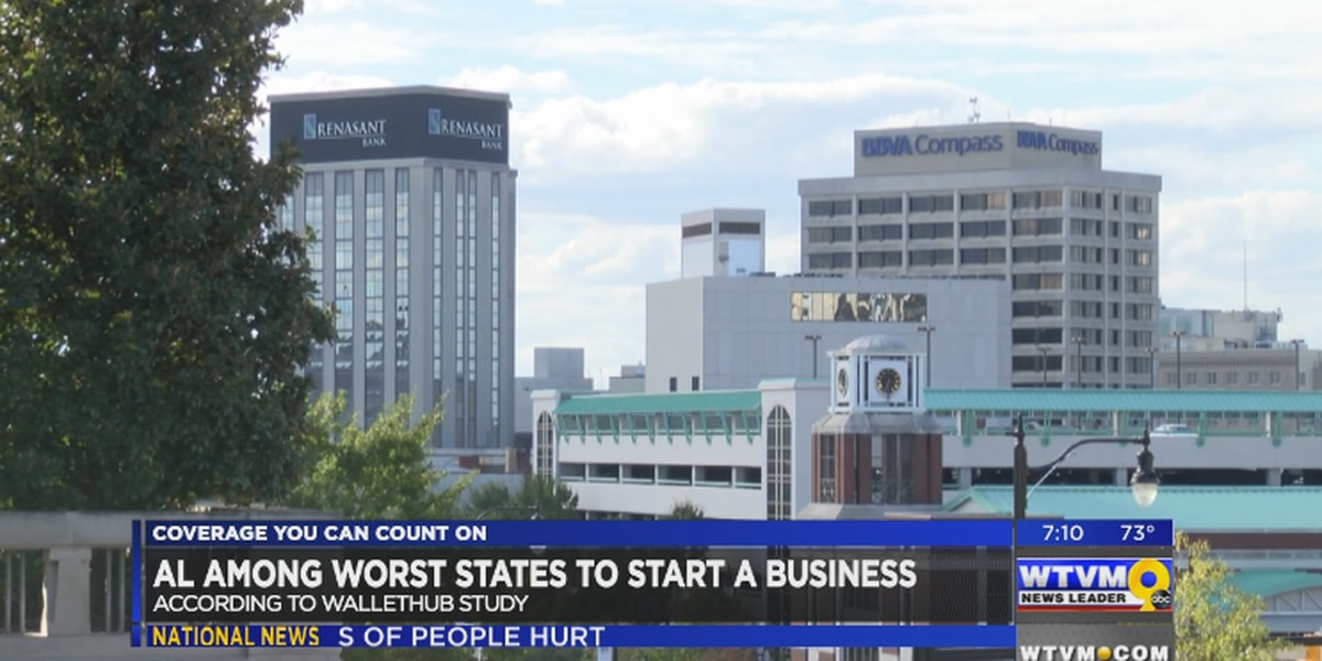 AL among worst states to start a business
