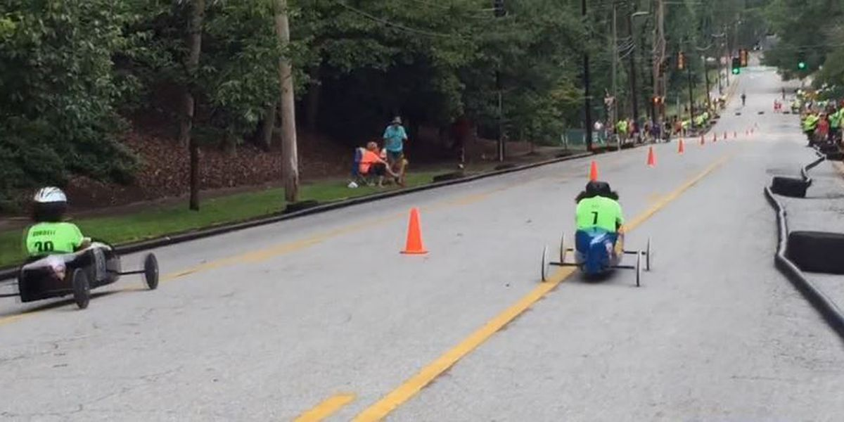 Inaugural River City Soap Box Derby held in Columbus