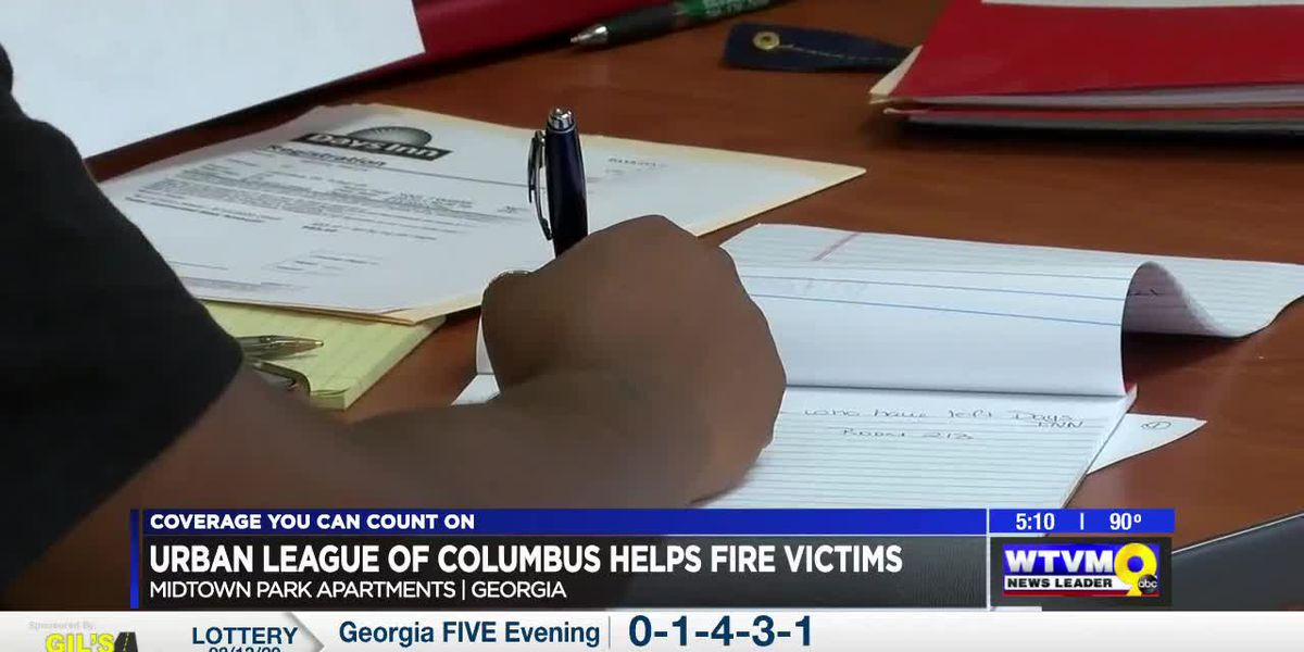 Urban League partners with Columbus health department to help apartment fire victims