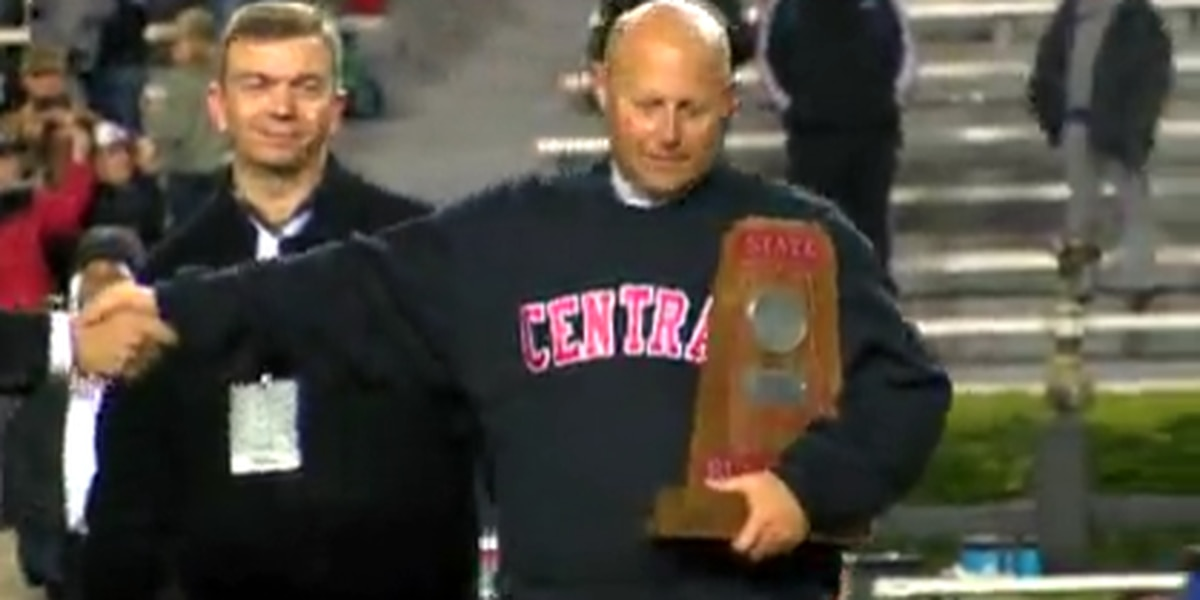 Central High School football coach announces departure after back-to-back trips to state championships