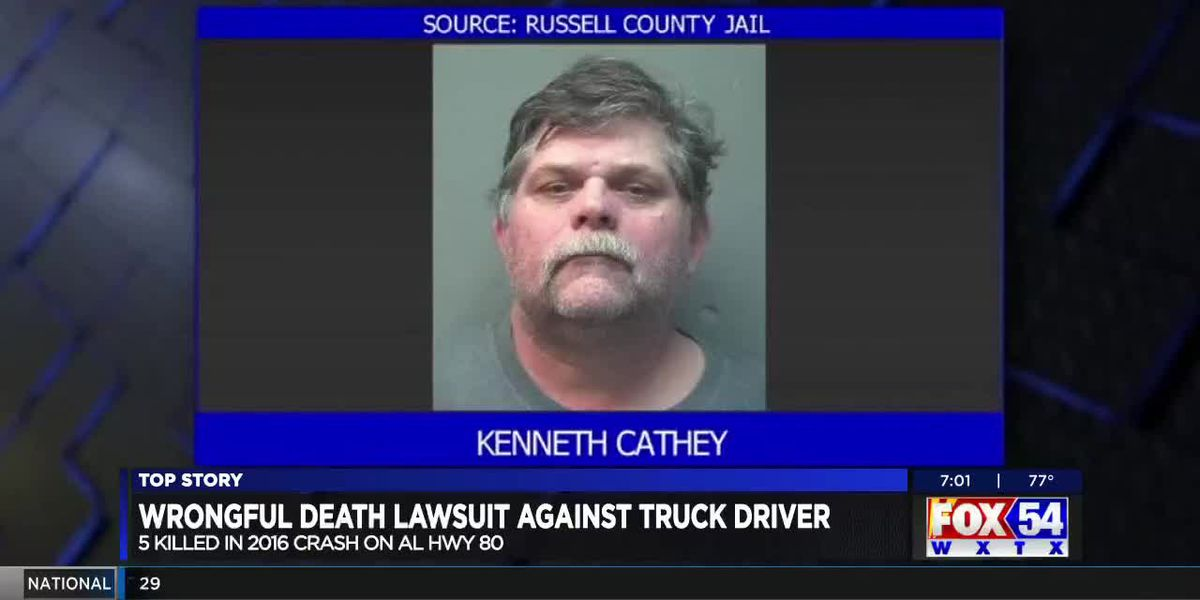Wrongful death trial begins in Columbus 3 years after an East Ala. vehicle accident