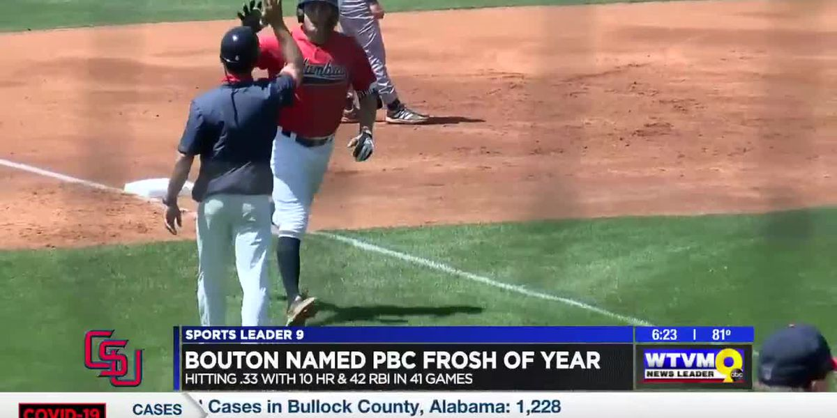 Bouton named PBC Freshman of the Year