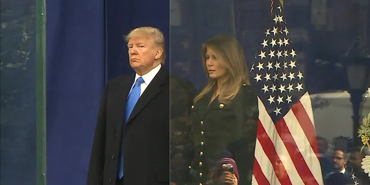 Trump attends 100th Veterans Day Parade in NYC
