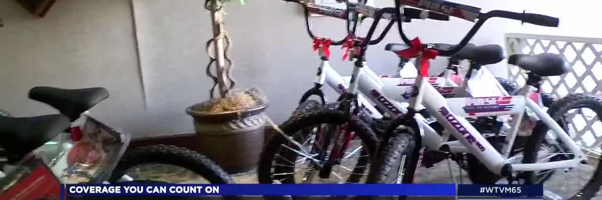 Academy Sports + Outdoors partners with Columbus Police Dept. for bike giveaway
