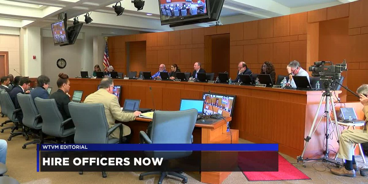 WTVM Editorial 10/1/18: Hire officers now