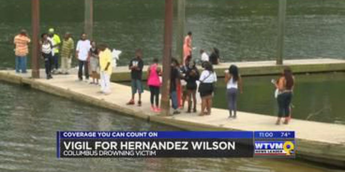 Family, friends of Hernandez Wilson hold vigil Sunday