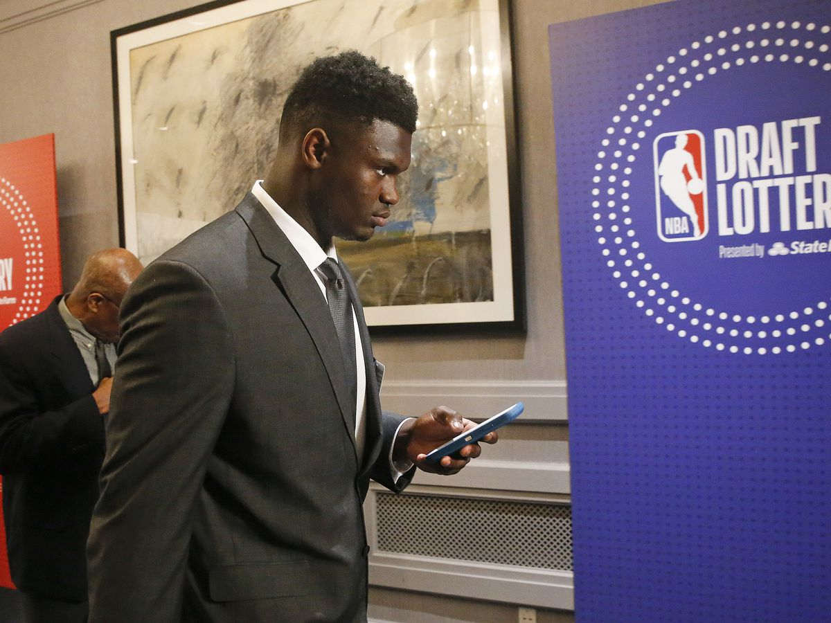 New Orleans wins NBA draft lottery, right to pick No. 1