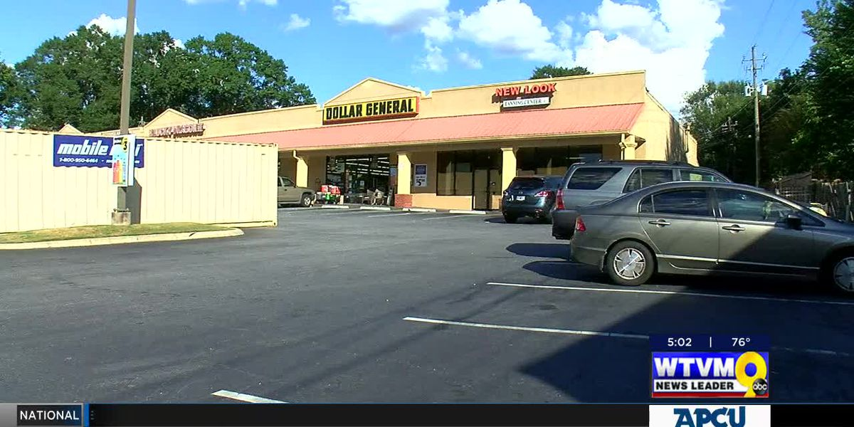 VIDEO: Suspect wanted in Columbus for armed robbery at Dollar General