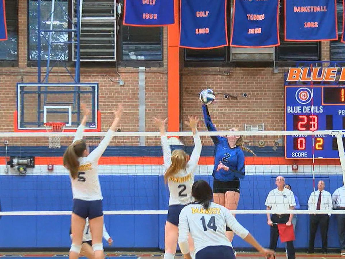 Blue Devils fall in state volleyball semifinals
