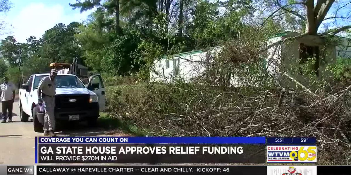 GA Lawmakers approve new hurricane relief funding