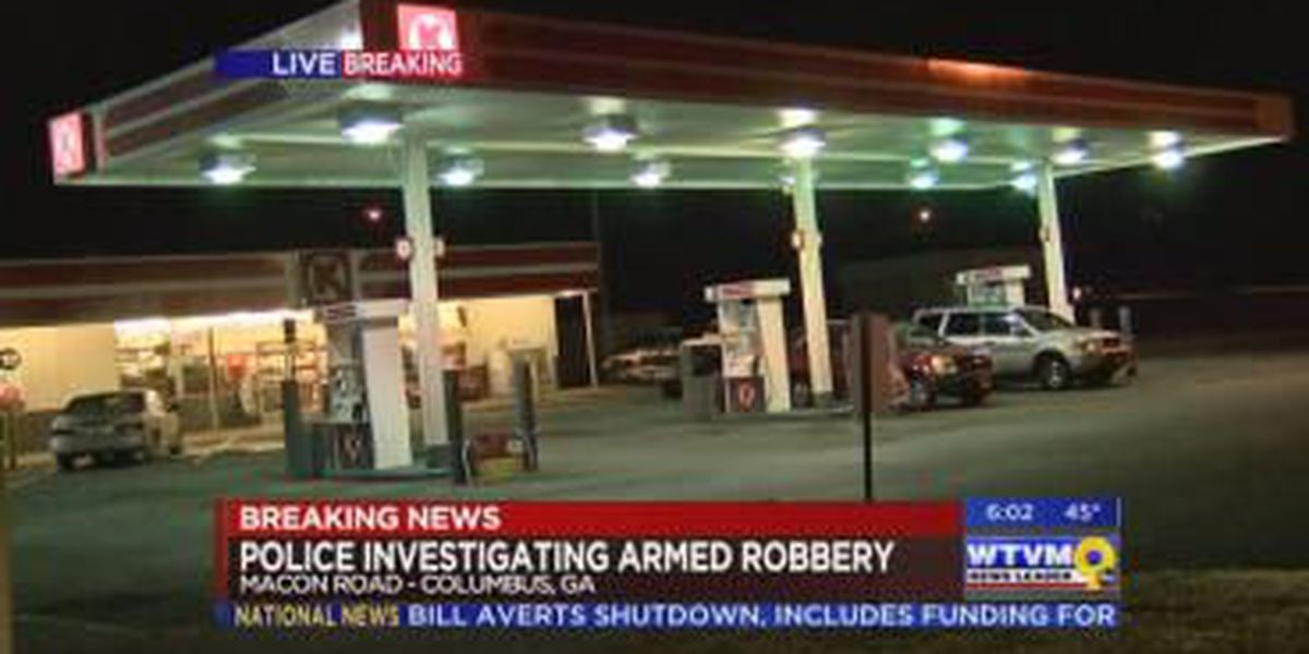 Circle K at intersection of Macon-Reese Road robbed Wednesday morning