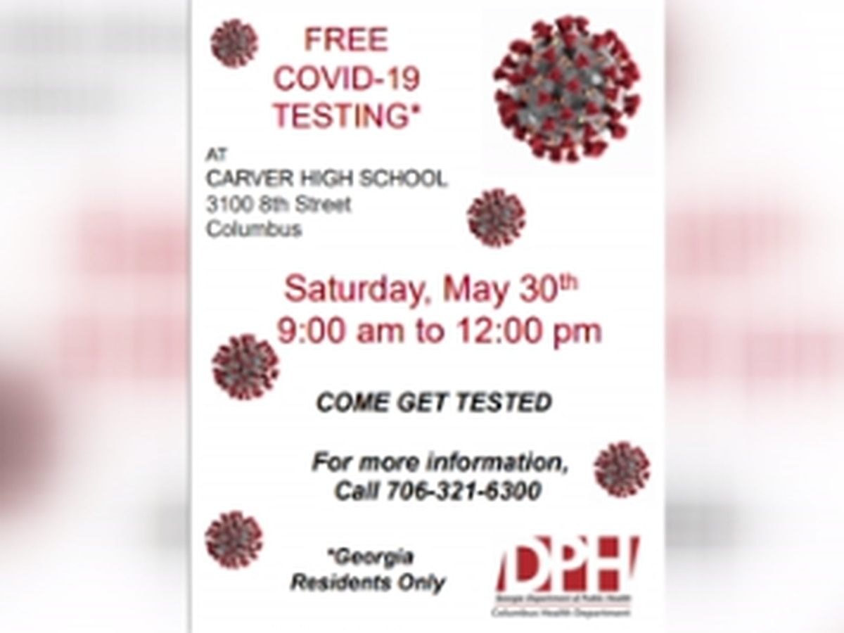 Free COVID-19 testing to be offered at Carver High School in Columbus