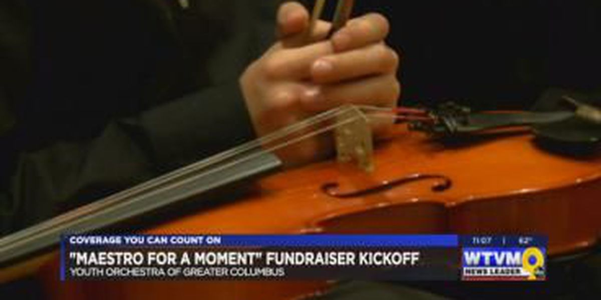Youth Orchestra of Greater Columbus hosts Maestro for a Moment event