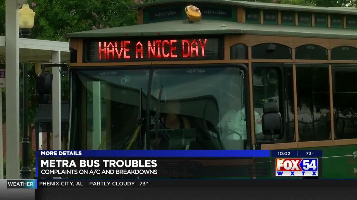 Bus riders complain of more Metra air conditioning problems and breakdowns in Columbus